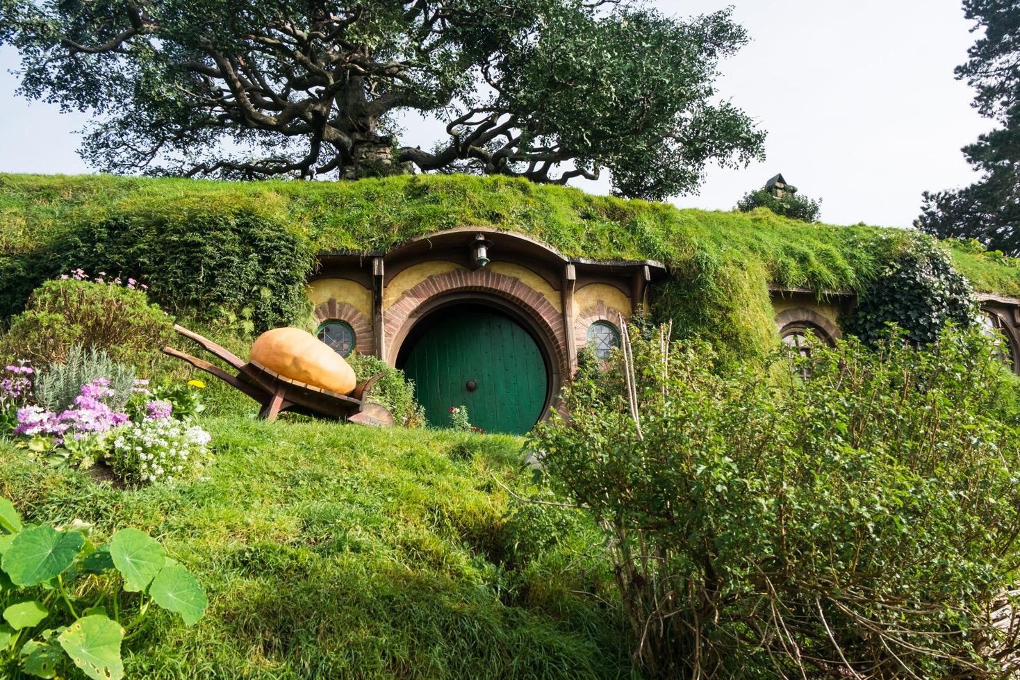 nzeta.my hobbit garden in Hobbiton