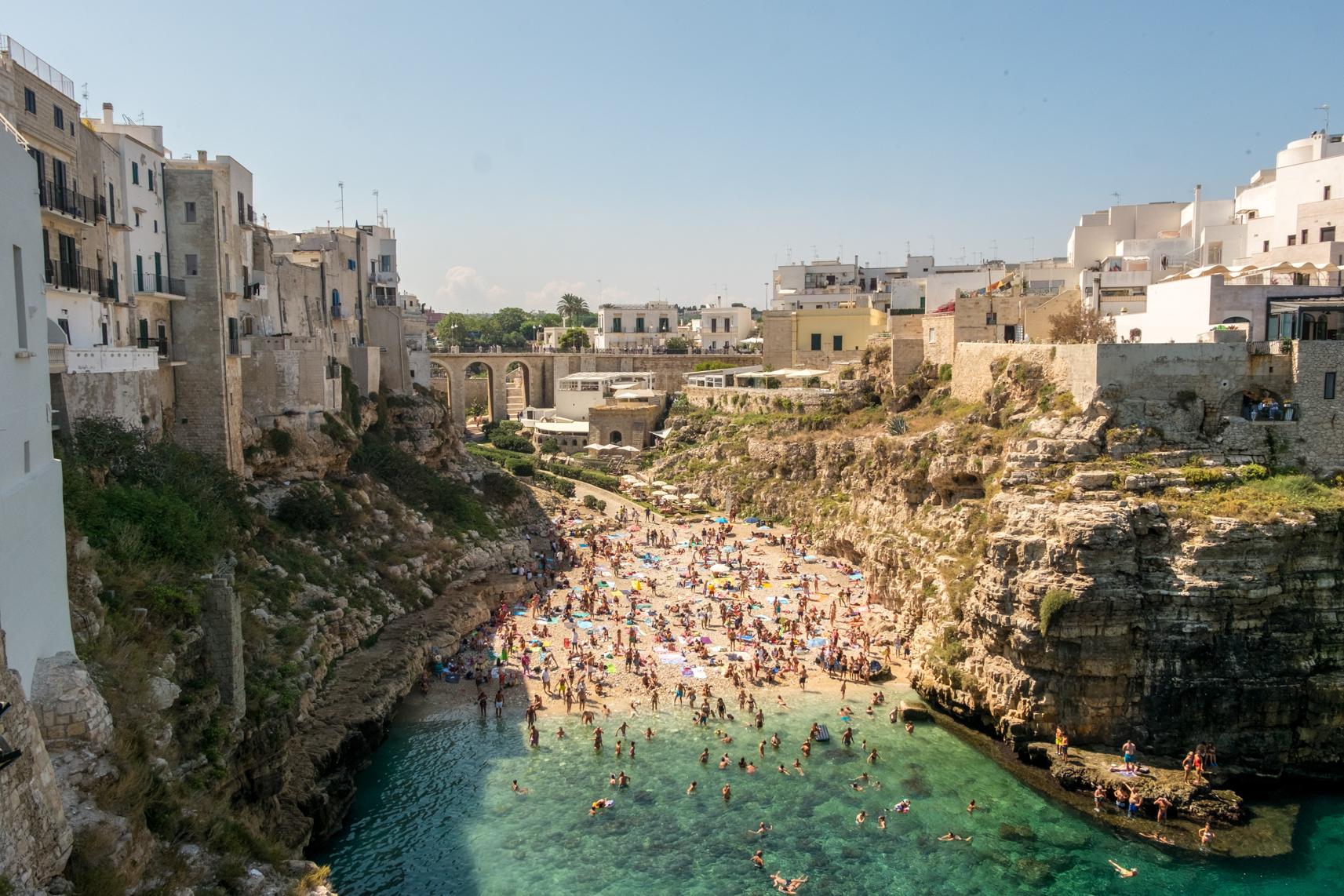 Polignano a Mare Italy
